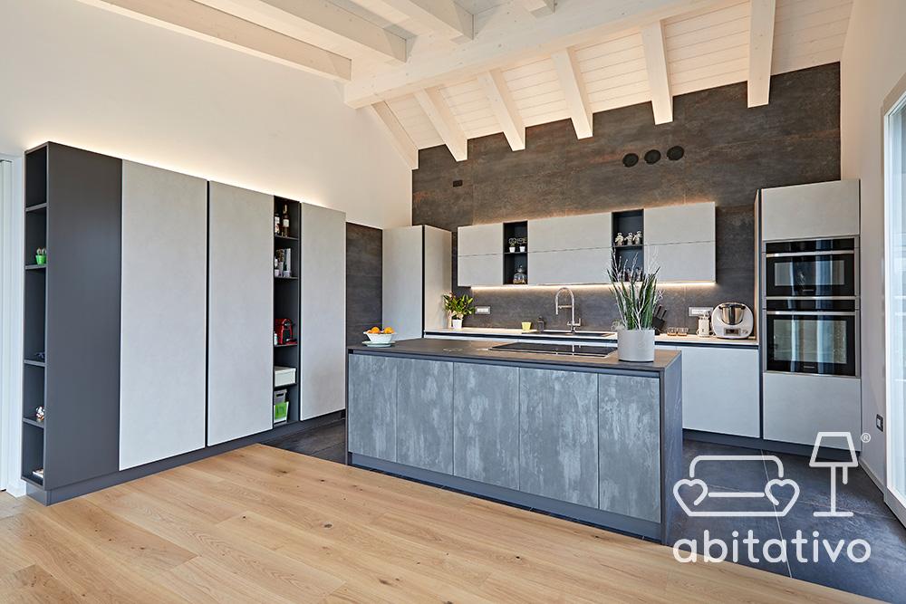 progettare cucina moderna con isola