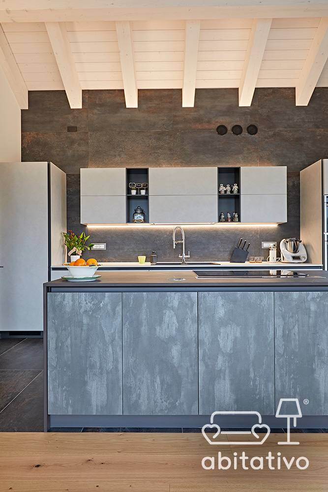 mobili cucina gres effetto marmo