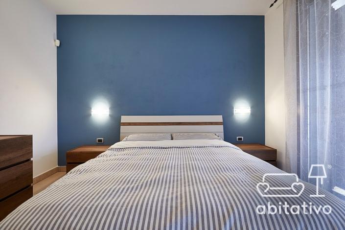 colore pareti camera da letto stile nordico