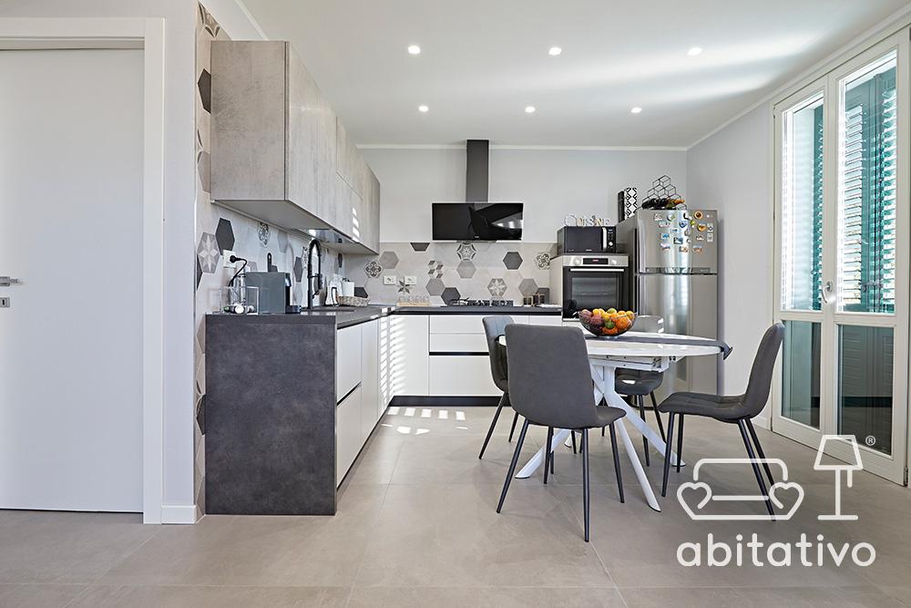 mobili cucina effetto pietra
