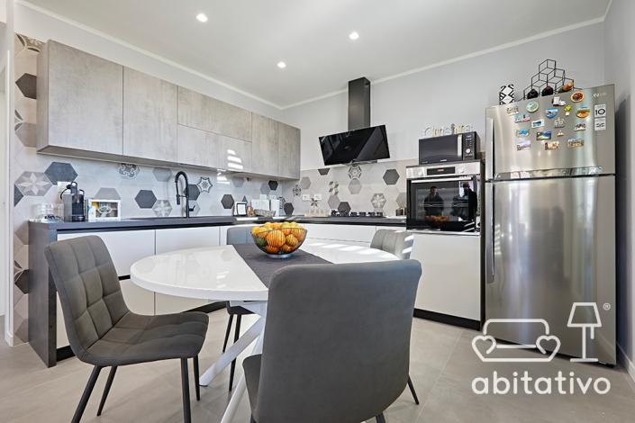 frigorifero acciaio per cucina moderna