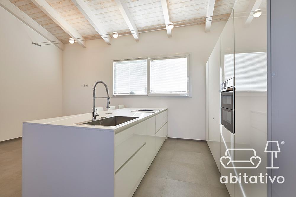 mobili cucina bianco lucido