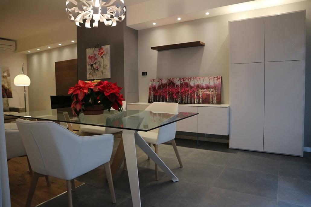 arredamento zona living elegante moderno