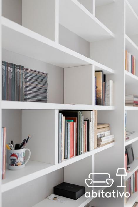 composizione mensole libreria
