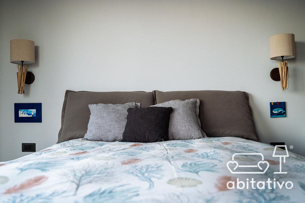 arredamento camera da letto al mare moderna
