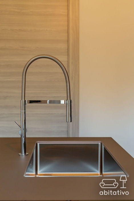 rubinetto cucina con doccetta