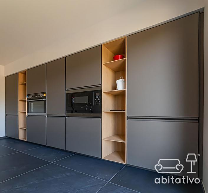 mobile cucina per parete lunga