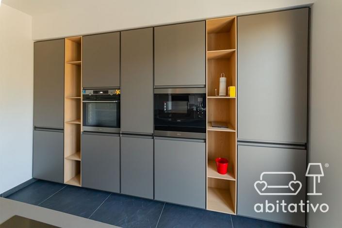scaffalature mobile cucina moderno