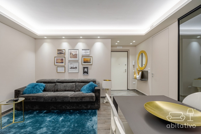 illuminazione appartamento faretti e strisce led