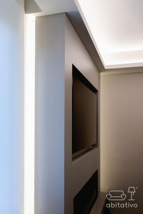 illuminazione vano tv