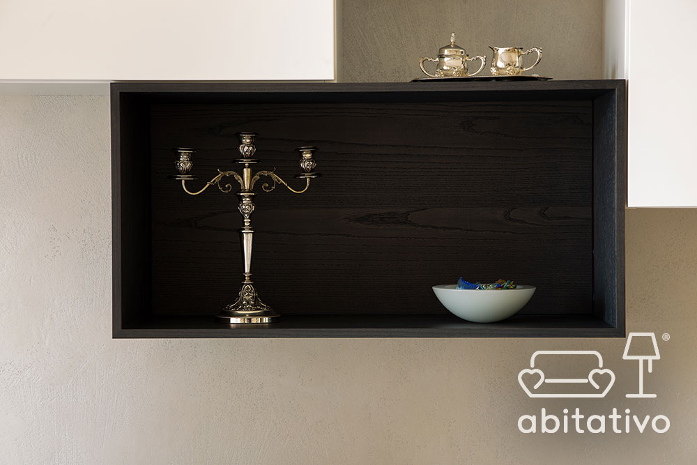 composizione moderna in soggiorno