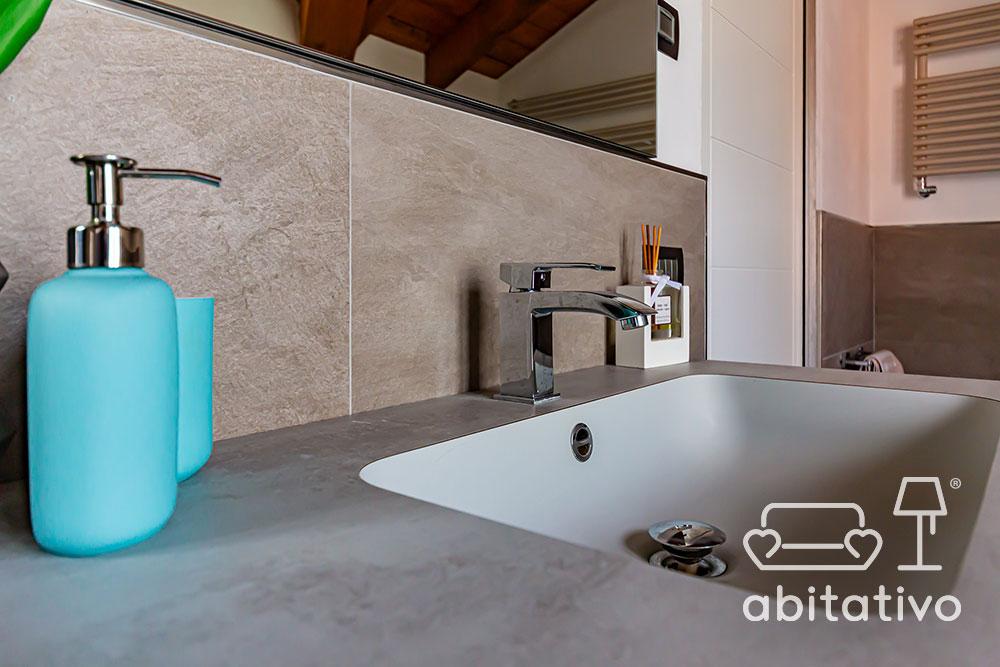 lavandino bagno minimale
