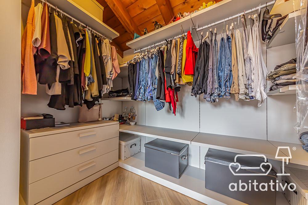 esempi di cabine armadio moderne
