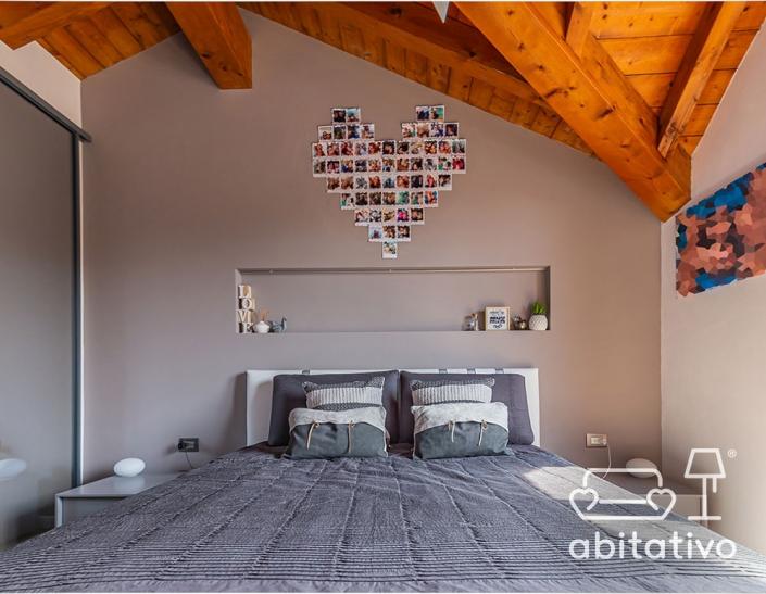 camera da letto in mansarda idee