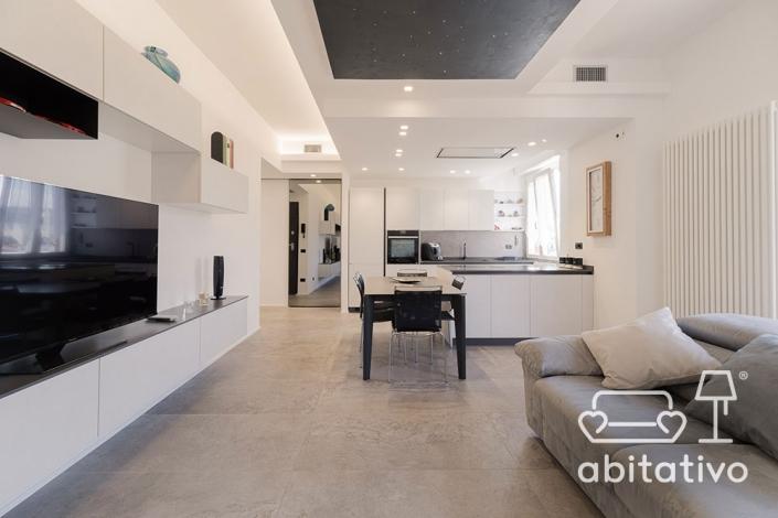 soggiorno super moderno e minimal