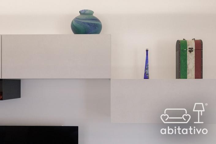 mobile bianco per soggiorno moderno