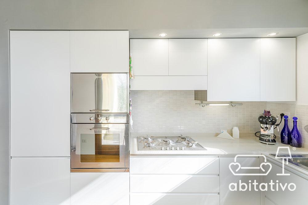 cucina moderna total white