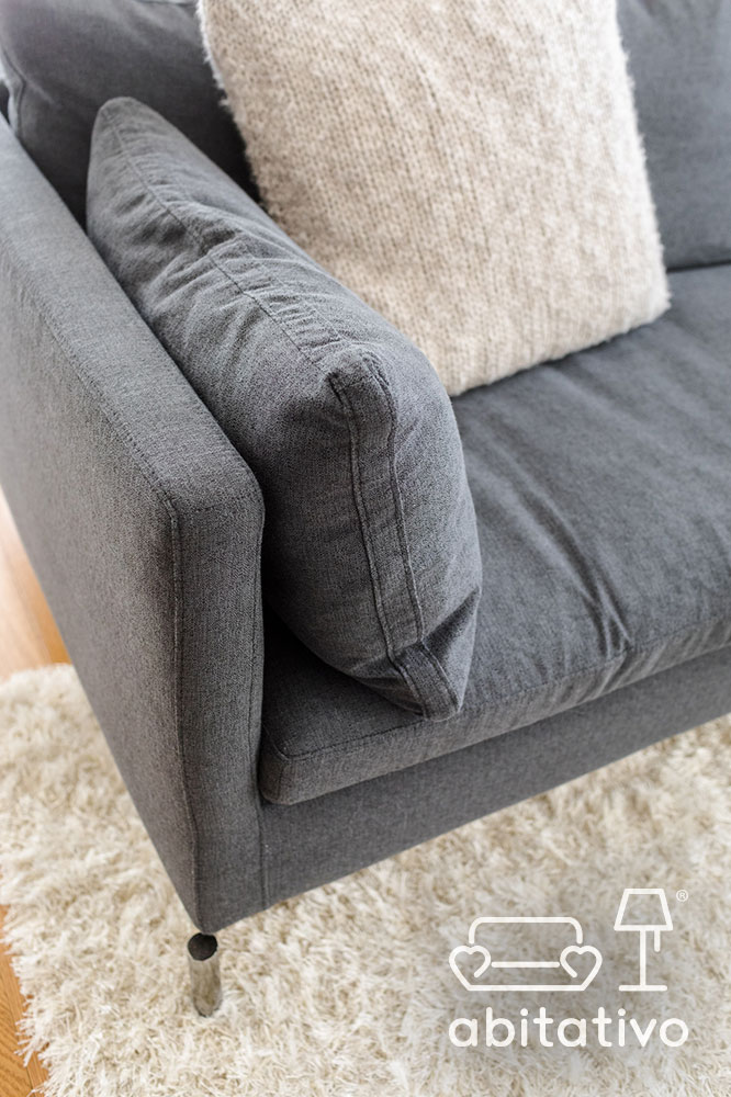 scegliere tessuti per divano e cuscini