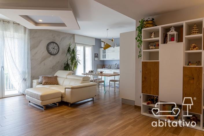 arredamento casa bianco e legno