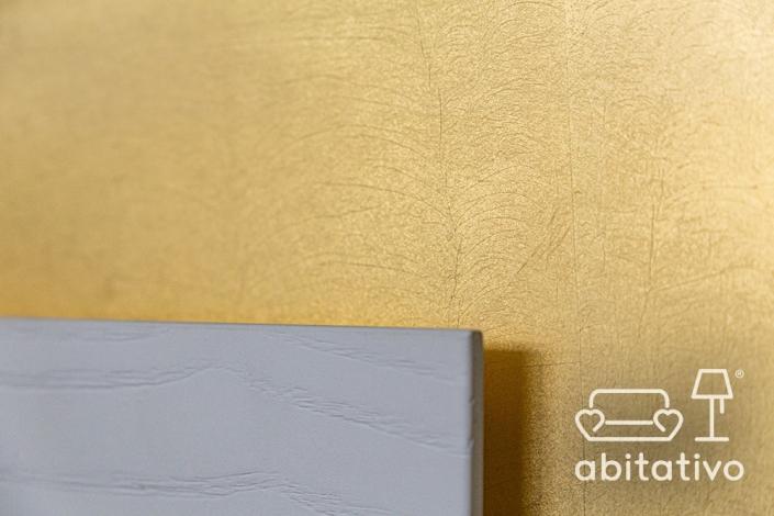 parete casa color oro