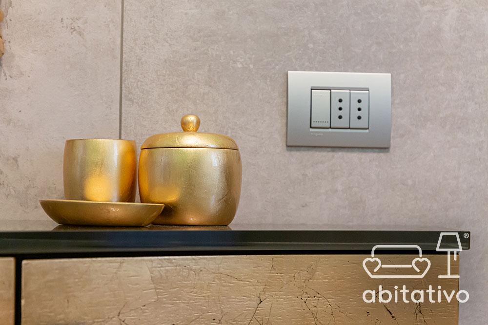 decorazioni per casa in oro