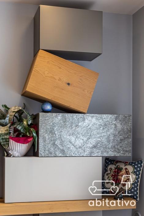 materiali per mobile per soggiorno