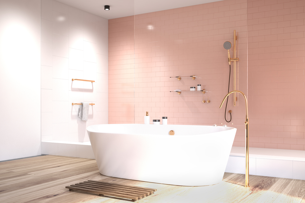 colore pareti rosa