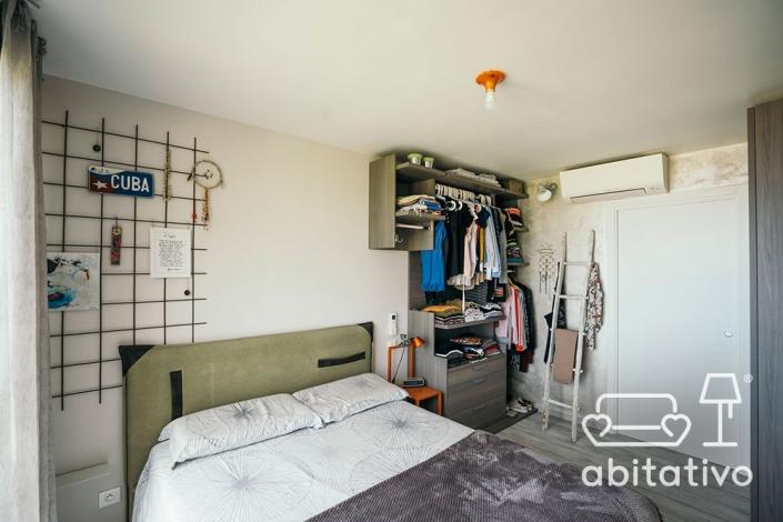 camera da letto salvaspazio