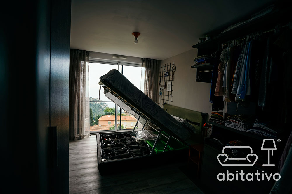 organizzare spazi camera da letto