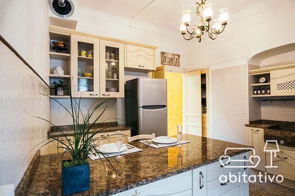 ristrutturare cucina provenzale appartamento