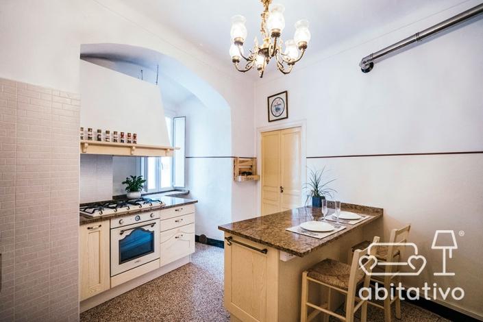 cucina shabby chic provenzale