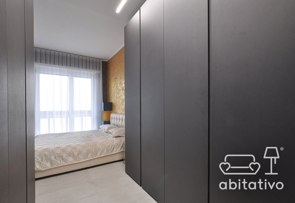 armadio camera da letto moderno