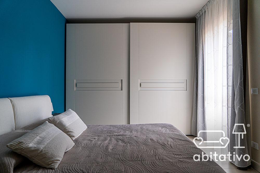 colore parete arredamento bianco