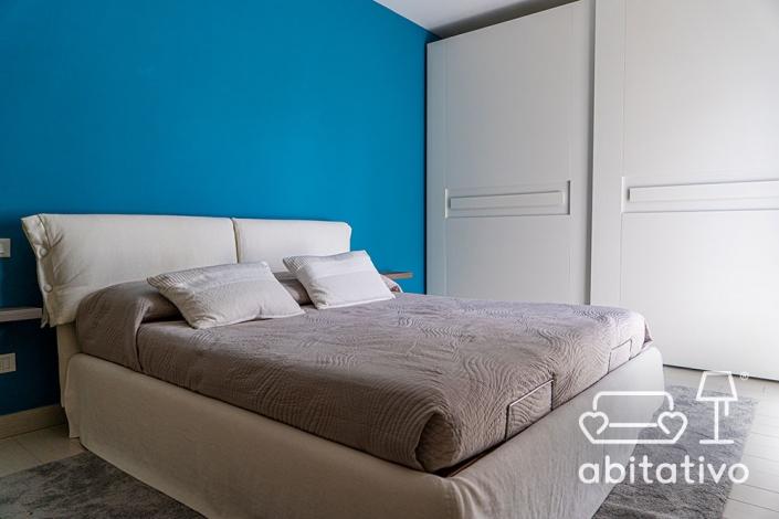colore pareti camera da letto mobili bianchi