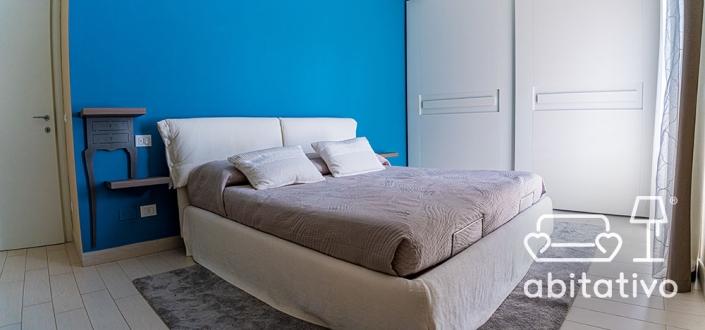 arredamento bianco camera da letto