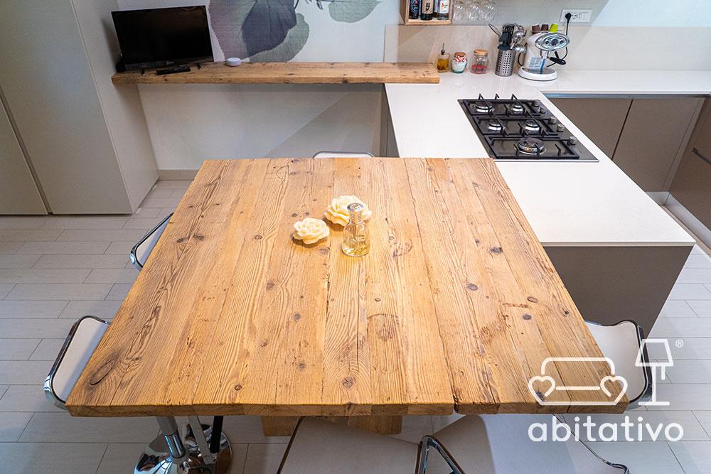 legno grezzo cucina design