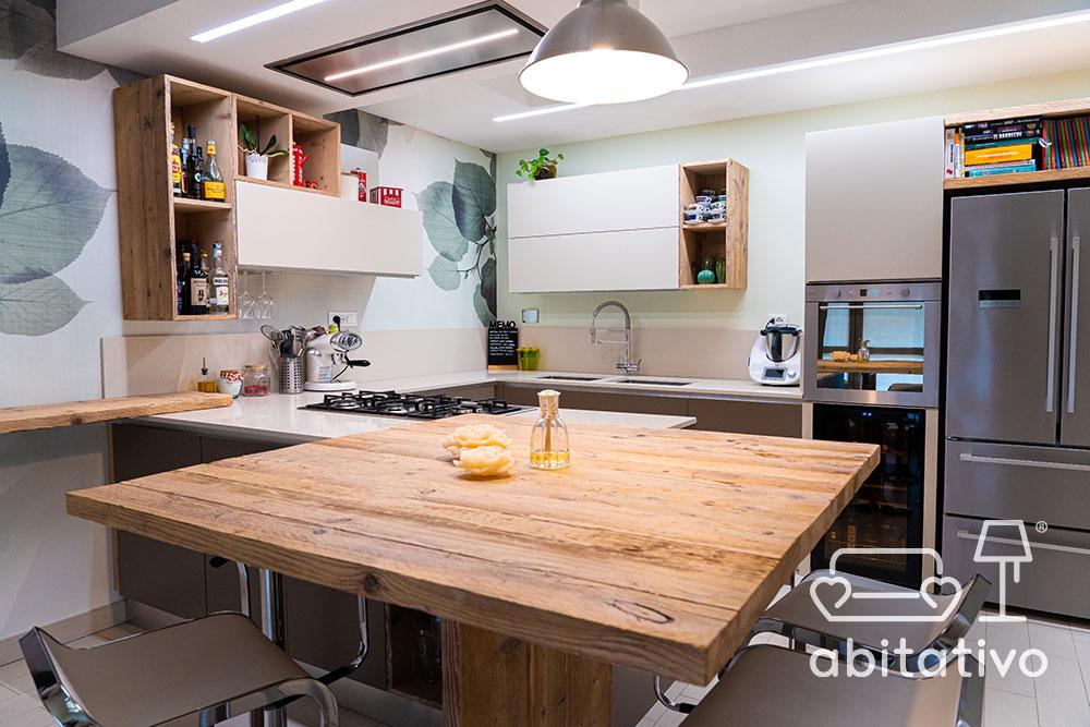 soluzione angolo cucina design