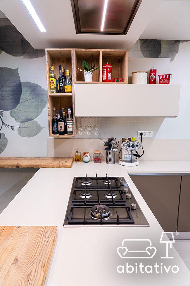 piano legno cucina design