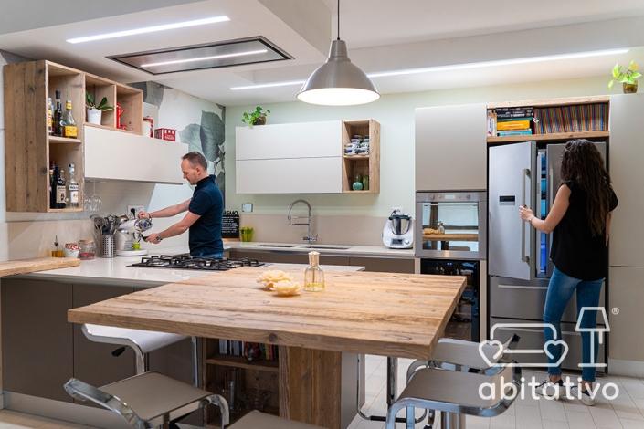disposizione funzionale cucina