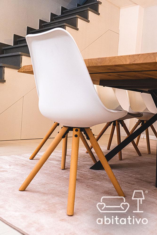 sedie design bianche