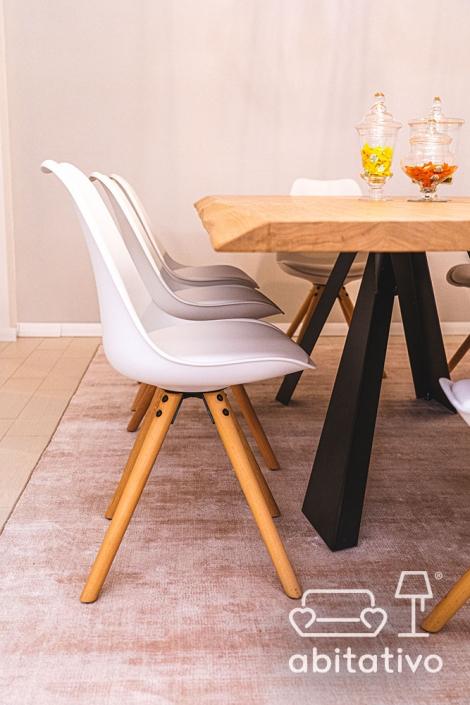 sedia design tavolo legno