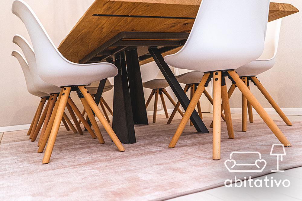 scegliere sedie tavolo moderno