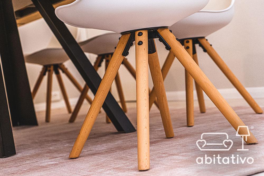 abbinare sedie design tavolo