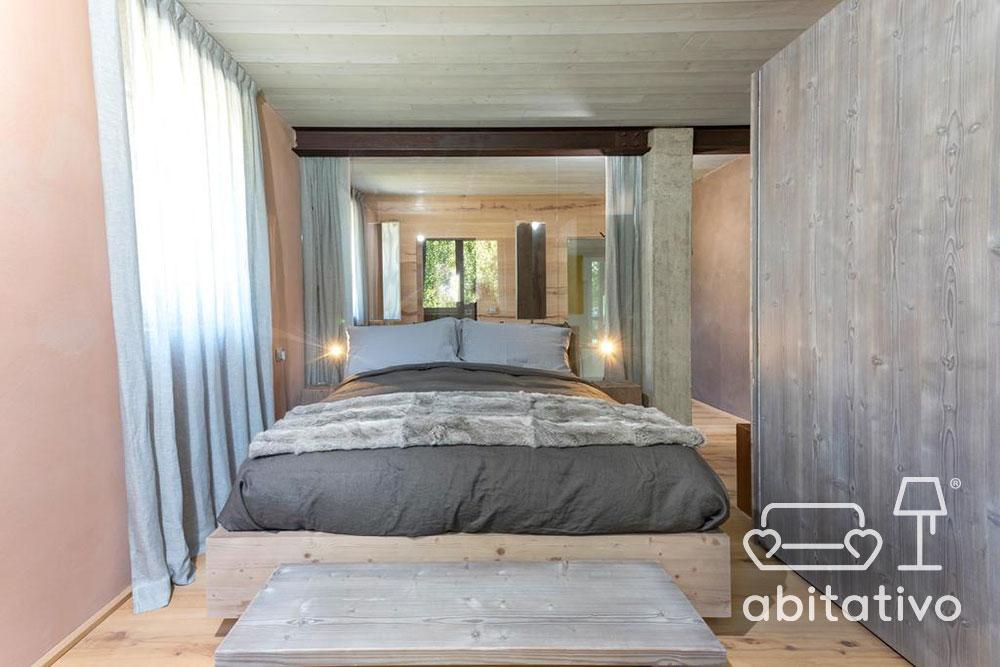 pavimento pareti legno