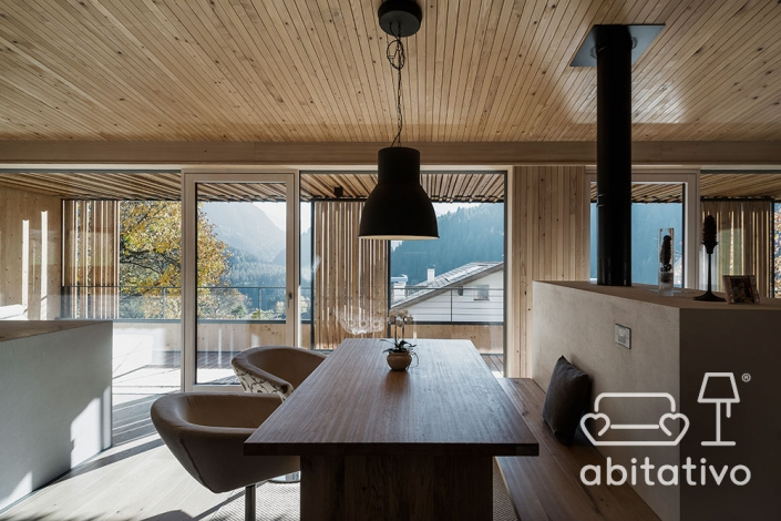 dividere ambienti chalet