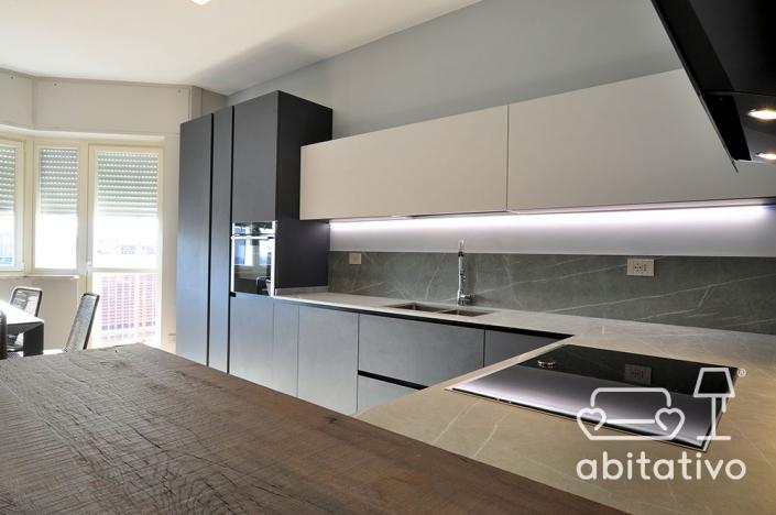 ristrutturazione cucina appartamento moderno