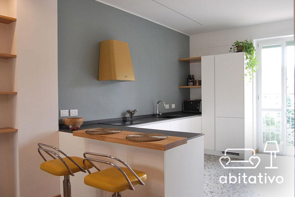 design cucina minimal abitativo