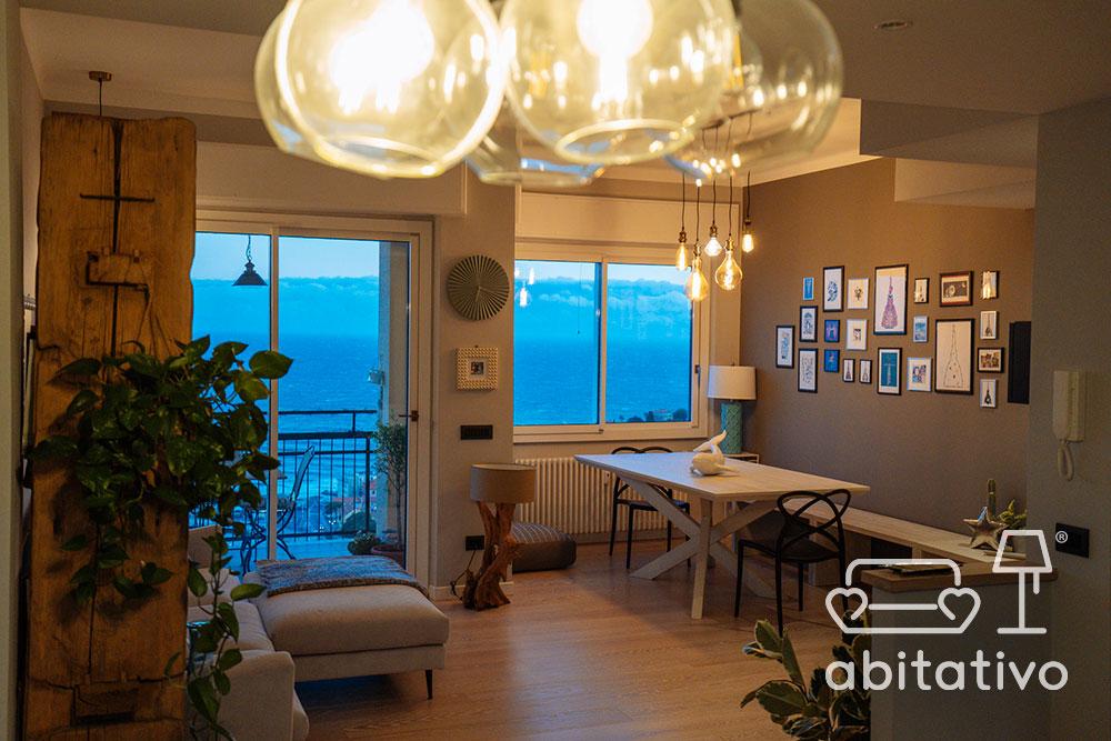 lampadari vetro soggiorno cucina