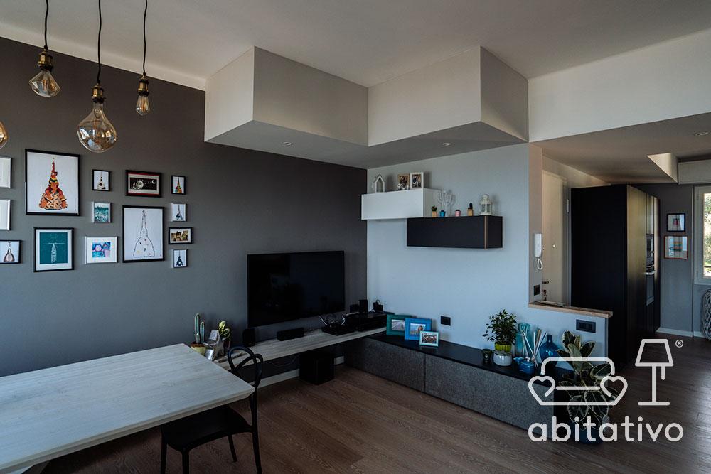 progettare soggiorno appartamento