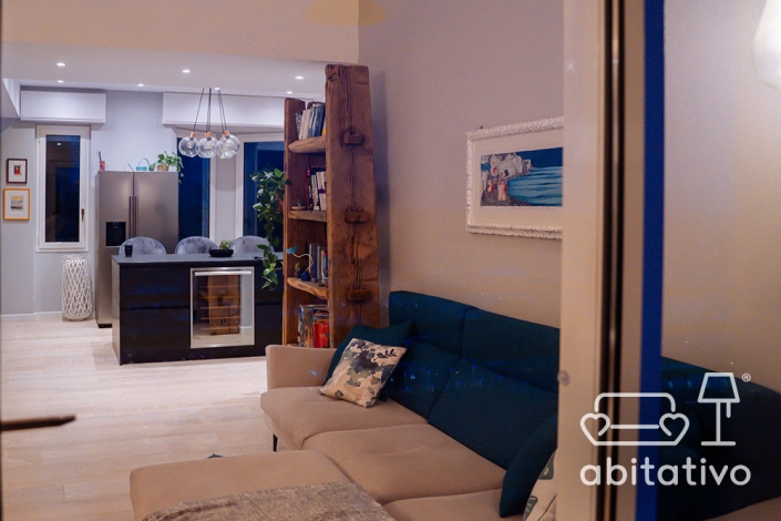 progetto arredamento soggiorno cucina